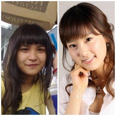 Putri Titian on Putri Titian     Taeyeon